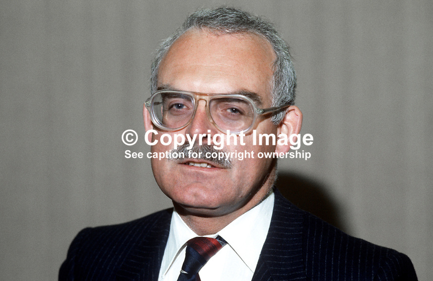 Michael Bishop, chairman, British Midland Airways Ltd, UK, 19840019MB..Copyright Image from Victor Patterson, 54 Dorchester Park, Belfast, UK, BT9 6RJ..Tel: +44 28 9066 1296.Mob: +44 7802 353836.Voicemail +44 20 8816 7153.Skype: victorpattersonbelfast.Email: victorpatterson@me.com.Email: victorpatterson@ireland.com (back-up)..IMPORTANT: If you wish to use this image or any other of my images please go to www.victorpatterson.com and click on the Terms & Conditions. Then contact me by email or phone with the reference number(s) of the image(s) concerned.