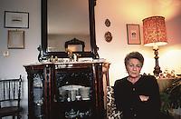 Rita Costa, widow of the judge Gaetano Costa, killed by mafia in 1980, after her husband's murder she became very involved in fightiig mafia.<br /> <br /> Rita Costa, vedova del magistrato Gaetano Costa, assassinato dalla mafia nel 1980, dopo l'omicidio &egrave; stata molto attiva nella battaglia contro la mafia.