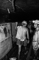 Miners working inside an underground mine at North Searsole Coliery in Ranigunj, West Bengal, India. Arindam Mukherjee