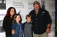 ANAHEIM, CA - NOVEMBER 01: Cara Whitney, Reagan Whitney, Wyatt Whitney, Larry the Cable Guy at The Walt Disney Family Museum Gala at Disneyland on November 1, 2016 in Anaheim, California. Credit: David Edwards/MediaPunch