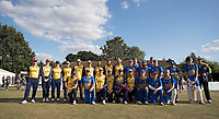 Essex CCC XI and Upminster XI team shot during Upminster CC vs Essex CCC, Benefit Match Cricket at Upminster Park on 8th September 2019