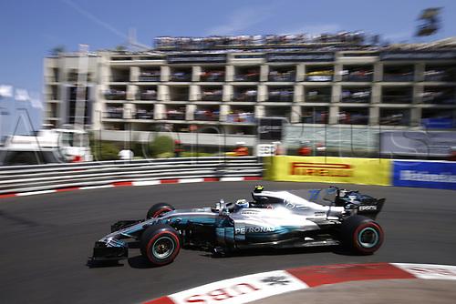 May 28th 2017, Monaco; F1 Grand Prix of Monaco Race Day; FIA Formula One World Championship 2017, Grand Prix of Monaco, <br /> #77 Valtteri Bottas (FIN, Mercedes AMG Petronas F1 Team)