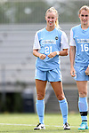 06 September 2015: North Carolina's Cameron Castleberry. The University of North Carolina Tar Heels played the University of Southern California Trojans at Koskinen Stadium in Durham, NC in a 2015 NCAA Division I Women's Soccer match. UNC won the game 2-1.