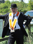 Lord Laird pictured at the Orange Order march at Oldbridge the site of the battle of the Boyne in 1690. Photo: Colin Bell/pressphotos.ie