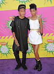 Jaden Smith and Willow Smith at The Nickelodeon's Kids' Choice Awards 2013 held at The Galen Center in Los Angeles, California on March 23,2013                                                                   Copyright 2013 Hollywood Press Agency