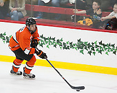 Matt Nelson (Princeton - 6) - The Harvard University Crimson defeated the visiting Princeton University Tigers 5-0 on Harvard's senior night on Saturday, February 28, 2015, at Bright-Landry Hockey Center in Boston, Massachusetts.