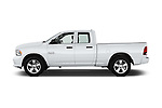 Car Driver side profile view of a 2016 Ram 1500 Express Express 4 Door Pickup Side View
