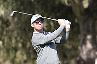 Paul Casey (ENG) tees off the 3rd tee at Monterey Peninsula CC during Saturday's Round 3 of the 2018 AT&amp;T Pebble Beach Pro-Am, held over 3 courses Pebble Beach, Spyglass Hill and Monterey, California, USA. 10th February 2018.<br /> Picture: Eoin Clarke | Golffile<br /> <br /> <br /> All photos usage must carry mandatory copyright credit (&copy; Golffile | Eoin Clarke)