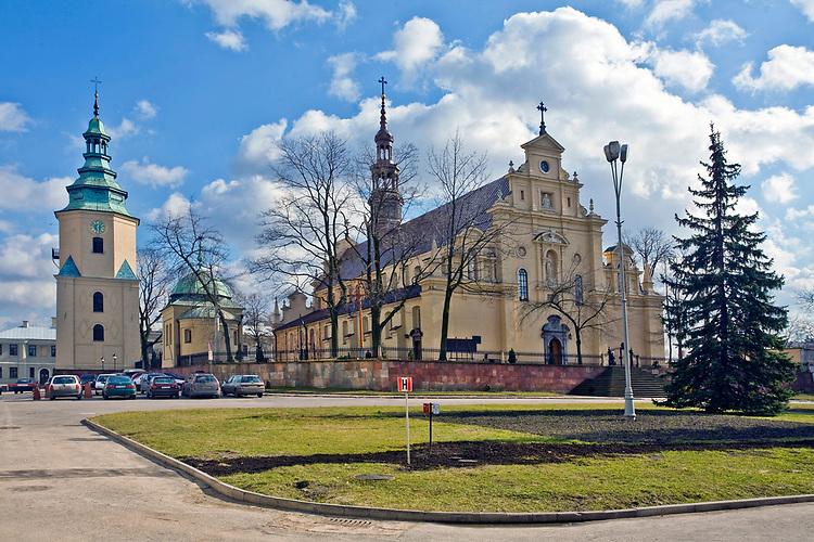 Bazylika katedralna Wniebowięcia Najświętszej Maryi Panny w Kielcach<br /> Basilica of st, Mary`s, Kielce