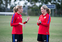 USWNT Training, January 15, 2017