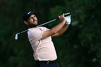 Alexander Levy (FRA) on the 4th during Round 2 of the Omega Dubai Desert Classic, Emirates Golf Club, Dubai,  United Arab Emirates. 25/01/2019<br /> Picture: Golffile | Thos Caffrey<br /> <br /> <br /> All photo usage must carry mandatory copyright credit (© Golffile | Thos Caffrey)