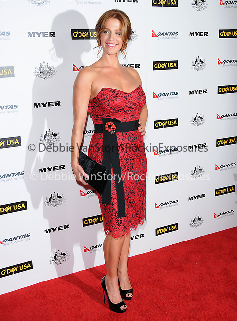 Poppy Montgomery at G'Day USA LA Black Tie Gala held at The Hollywood Palladium in Hollywood, California on January 22,2011                                                                               © 2010 Hollywood Press Agency