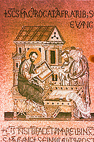 """Venice:  San Marco--mosaic.  """"Group of Evangelists""""  Reference only."""