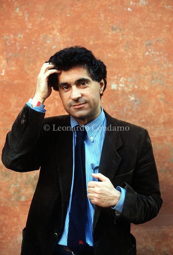 APR 2000, ROMA: VITO BRUNO, WRITER © Leonardo Cendamo