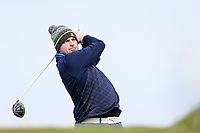 Thomas O'Connor (Athlone) during the first round of matchplay at the 2018 West of Ireland, in Co Sligo Golf Club, Rosses Point, Sligo, Co Sligo, Ireland. 01/04/2018.<br /> Picture: Golffile | Fran Caffrey<br /> <br /> <br /> All photo usage must carry mandatory copyright credit (&copy; Golffile | Fran Caffrey)