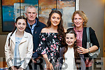 Doireann, Colm, Clodagh (recipient), Éabha and Kathleen Jordan, Dingle,  pictured at the Lee Strand Kerry/Garda Youth Achievement Awards 2017 at Ballyroe Heights Hotel, Tralee, on Friday night last.