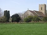A4TR97 Antigham church Norfolk England