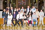Proud parents Jason and Breda Coffey, Tamh Na Chli, Tralee (seated centre) of little Layla Nona who was Christening by Fr Gerard Finucane at St John's Church, Tralee and celebrated afterwards with family and friends at home on Saturday.