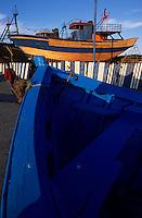 Afrique/Maghreb/Maroc/Essaouira : Le port de pêche, chantier naval
