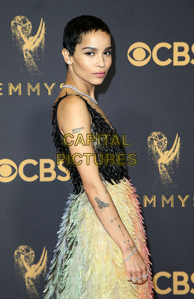 17 September 2017 - Los Angeles, California - Zo&euml; Kravitz. 69th Annual Primetime Emmy Awards held at Microsoft Theater. <br /> CAP/ADM/FS<br /> &copy;FS/ADM/Capital Pictures
