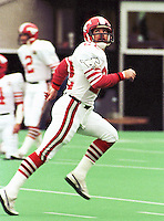 Tom Scott Calgary Stampeders 1984. Copyright photograph Scott Grant