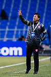 Muangthong Head Coach Sripan Totchtawan gestures during the AFC Champions League 2017 Group E match between  Ulsan Hyundai FC (KOR) vs Muangthong United (THA) at the Ulsan Munsu Football Stadium on 14 March 2017 in Ulsan, South Korea. Photo by Chung Yan Man / Power Sport Images
