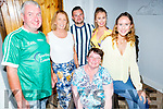 Enjoying the evening in Bella Bia on Saturday. Seated l to r: Mary Maxwell and standing l to r: John Murphy, Joan Carmody, Robbie Maxwell, Ciara O'Mahoney and Caitlin O'Brien.