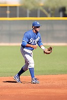 Yowill Espinal - Kansas City Royals, 2009 Instructional League.Photo by:  Bill Mitchell/Four Seam Images..
