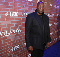 """LOS ANGELES - FEBRUARY 19: John Singleton arrives at the red carpet event for FX's """"Atlanta Robbin' Season"""" at the Ace Theatre on February 19, 2018 in Los Angeles, California.(Photo by Frank Micelotta/FX/PictureGroup)"""