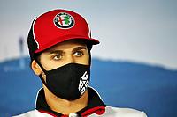 16th July 2020, Hungaroring, Budapest, Hungary; F1 Grand Prix of Hungary, drivers arrival and track inspection day;  99 Antonio Giovinazzi ITA, Alfa Romeo Racing ORLEN