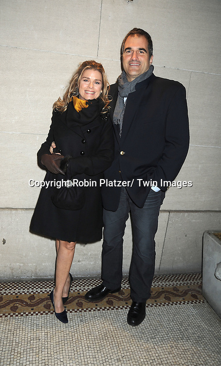 Fiona Hutchison and John Viscardi attends the One Life to Live Wrap Party on November 18, 2011 at Capitale in New York City.