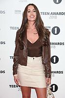 Celia Theodorou<br /> arriving for the Radio 1 Teen Awards 2018 at Wembley Stadium, London<br /> <br /> ©Ash Knotek  D3454  21/10/2018