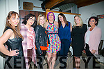 Ladies celebrating May Day at Bella Bia's on Saturday were l-r  Louise Lovett, Mary Dillane, Amy McGullicuddy, Tracy O'Sullivan, Christine McAuliffe, Sabrina O'Reilly and Lisa O'Connor