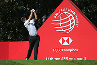 Justin Rose (ENG) on the 11th tee during round 1 at the WGC HSBC Champions, Sheshan Golf Club, Shanghai, China. 31/10/2019.<br /> Picture Fran Caffrey / Golffile.ie<br /> <br /> All photo usage must carry mandatory copyright credit (© Golffile | Fran Caffrey)