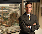 Attorney Sashe Dimitroff at his office downtown Tuesday May 29,2007.(Dave Rossman/For the Chronicle)