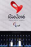 (L-R) <br /> Philip Craven,<br /> Eduardo Paes,<br /> SEPTEMBER 18, 2016 : Closing Ceremony at Maracana <br /> during the Rio 2016 Paralympic Games in Rio de Janeiro, Brazil. <br /> (Photo by Shingo Ito/AFLO)