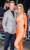 London, UK. 26 September 2016. Greg Rutherford and Natalie Lowe who are currently appearing as dance partners in the BBC show Strictly Come Dancing. Red carpet arrivals for the European Premiere of the Hollywood movie Deepwater Horizon in Leicester Square. The movie is based on the 2010 Deepwater Horizon explosion and oil spill in the Gulf of Mexico. © Bettina Strenske/Alamy Live News
