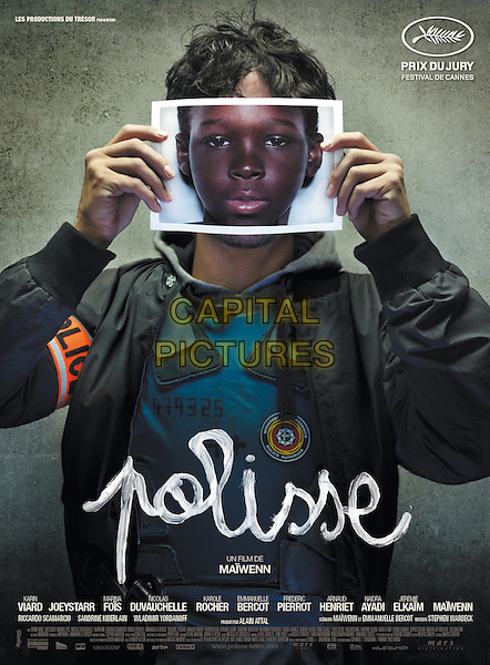 POSTER ART<br /> in Polisse (2011) <br /> *Filmstill - Editorial Use Only*<br /> CAP/NFS<br /> Image supplied by Capital Pictures