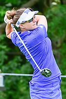 Brittany Lang (USA) watches her tee shot on 11 during Thursday's round 1 of the 2017 KPMG Women's PGA Championship, at Olympia Fields Country Club, Olympia Fields, Illinois. 6/29/2017.<br /> Picture: Golffile | Ken Murray<br /> <br /> <br /> All photo usage must carry mandatory copyright credit (&copy; Golffile | Ken Murray)