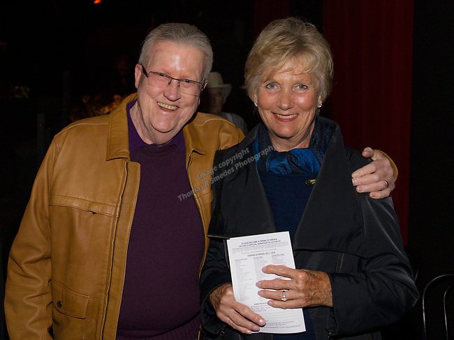 A photograph taken during the Take 5 fundraiser at the Bruka Theatre on Saturday night, Jan. 13, 2018.