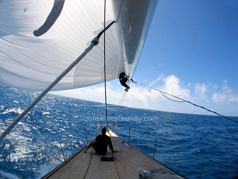 Hamilton Island Race Week 2006 onboard the Swan 82 Ipixuna.