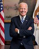 Official portrait of United States Vice President Joe Biden in his West Wing Office at the White House, January 10, 2013. .Mandatory Credit: David Lienemann - White House via CNP