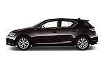 Car Driver side profile view of a 2015 Lexus CT Executive 5 Door Hatchback 2WD Side View