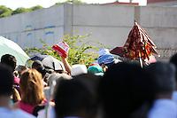 PORTO ALEGRE, RS, 02.02.2014 - Fiéis durante missa em homenagem a Nossa Senhora dos Navegantes na Igreja do Rosário, em Porto Alegre (RS), neste domingo, 02. (Foto: Pedro H. Tesch / Brazil Photo Press).