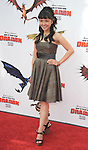 UNIVERSAL CITY, CA. - March 21: Tania Gunadi arrives at the premiere of ''How To Train Your Dragon'' at Gibson Amphitheater on March 21, 2010 in Universal City, California.