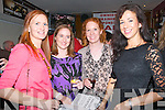 Christmas Fundraiser : Attending the Christmas fund raier horse racing night at Christy's Bar, Listowel on Friday night last were Michell Kearney, Claire Leahy, Mairead Regan & Rachel Stokes.