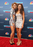 PASADENA, CA - MARCH 12: Phoenix Chi Gulzar and Mel B at America&rsquo;s Got Talent Red Carpet Kickoff at The Pasadena Civic Auditorium in Pasadena, California on March 12, 2018. <br /> CAP/MPI/FS<br /> &copy;FS/MPI/Capital Pictures