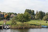 Ufer der Having bei Bollwerk auf Rügen, Mecklenburg-Vorpommern, Deutschland