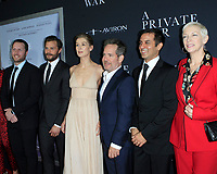 "LOS ANGELES - OCT 24:  A Private War, Cast, Rosamund Pike, Jamie Dornan at the ""A Private War"" Premiere at the Samuel Goldwyn Theater on October 24, 2018 in Beverly Hills, CA"