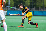 BLOEMENDAAL - Daniel Aarts (Den Bosch)  tijdens de hoofdklasse competitiewedstrijd hockey heren,  Bloemendaal-Den Bosch  COPYRIGHT KOEN SUYK